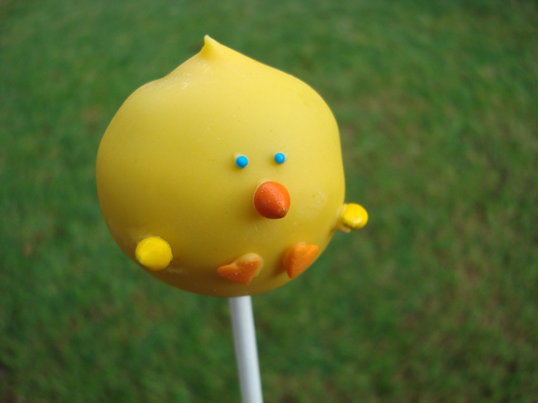 Little Chick Cake Pops Little Flamingo