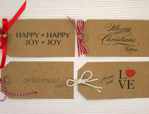 DIY Gift Tags + FREE Printable Download