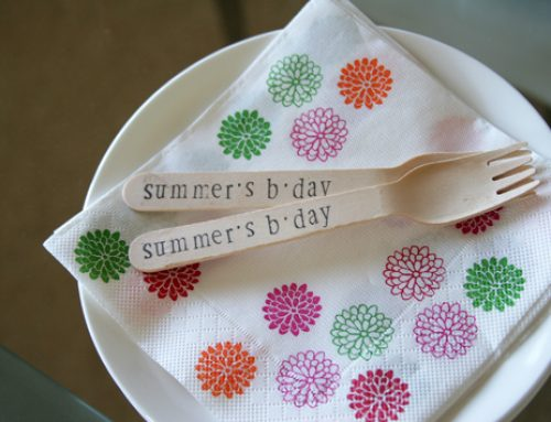 DIY Tutorial – Personalised Cutlery