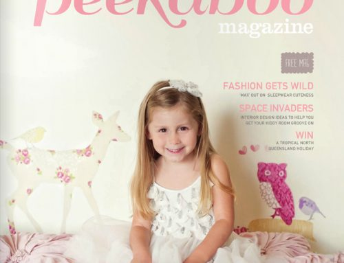 Little Flamingo in Peekaboo Magazine