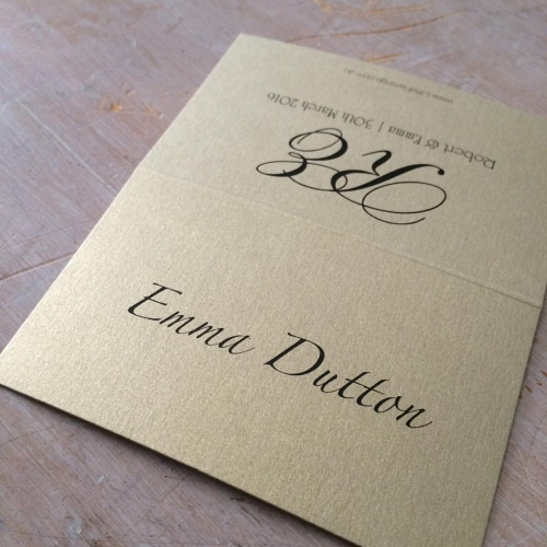 custom wedding placecards