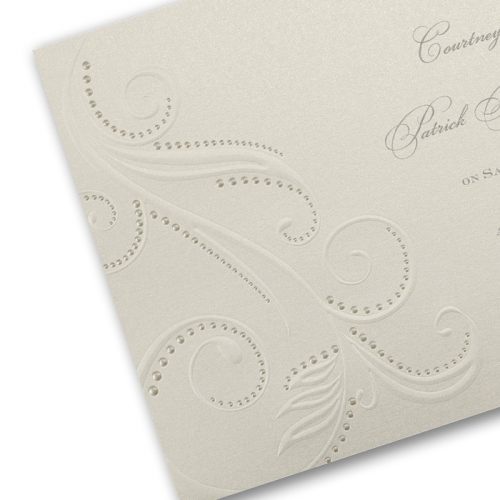 designer elegant wedding invitations