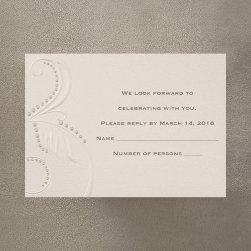 simple elegant wedding invites