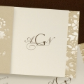 Elegant Gold Wedding Invitations