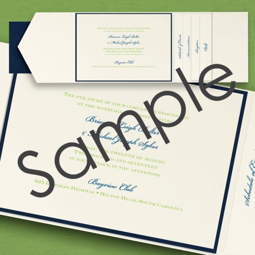 Sample Wedding Invitations Australia