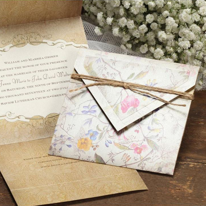 rustic vintage wedding invitations - Rustic Vintage Wedding Invitations