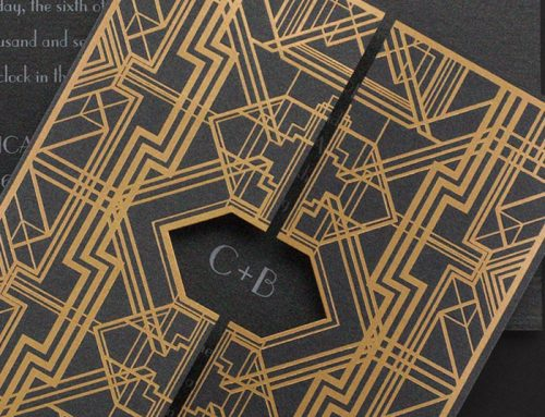 Art Deco Wedding Invitations and Ideas