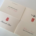 chinese wedding place cards