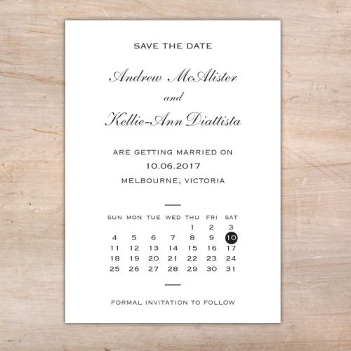 elegant save the date cards australia