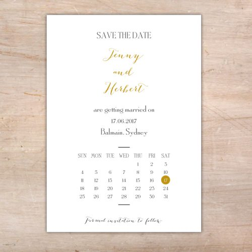 little flamingo save the date cards