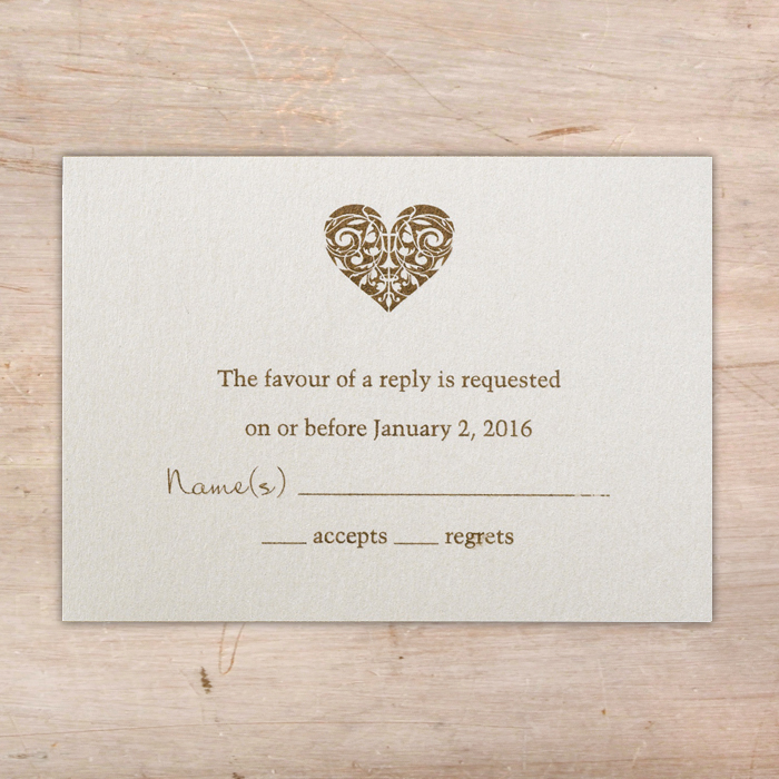 laser cut heart wedding invitations rsvp envelope little flamingo