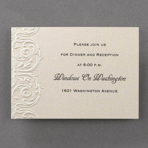 embossed wedding invites australia