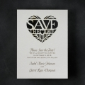 laser cut save the date