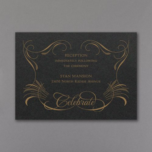 Sophisticated wedding invitations