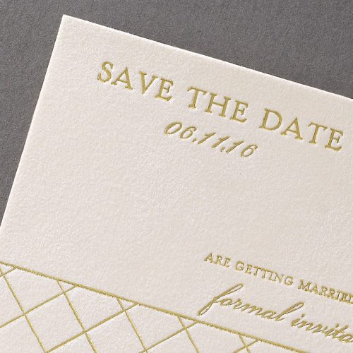 Unique wedding save the date cards