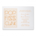champagne cocktail party invitations