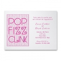 fun and funky engagement invites