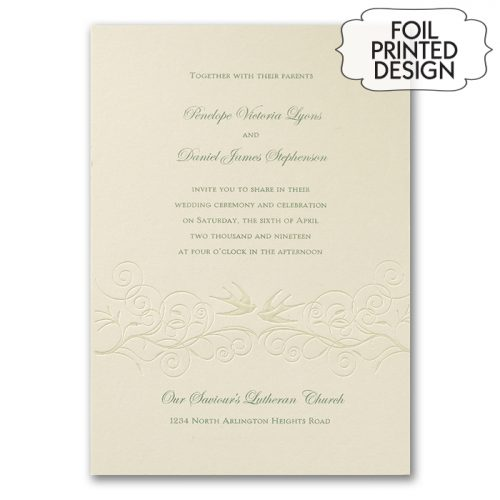 garden wedding invitations australia