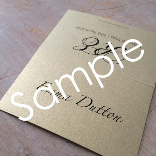 budget wedding place cards
