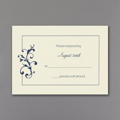 romantic and elegant wedding invitations