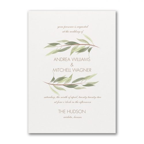 Australiana Wedding Invitation Ideas